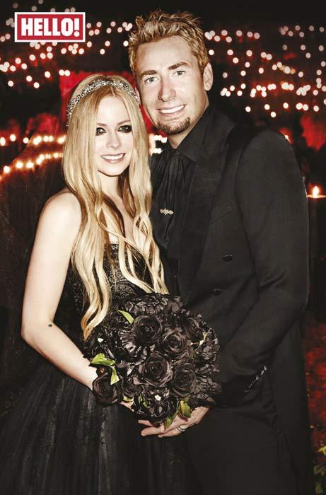 Avril Lavigne Matrimonio In Nero : Avril lavigne y chad kroeger a un paso del divorcio