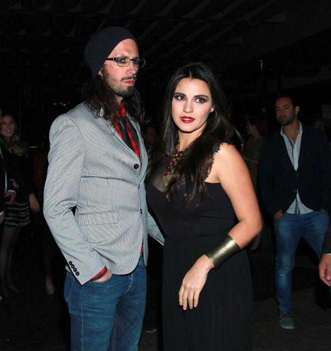 Maite y su marido