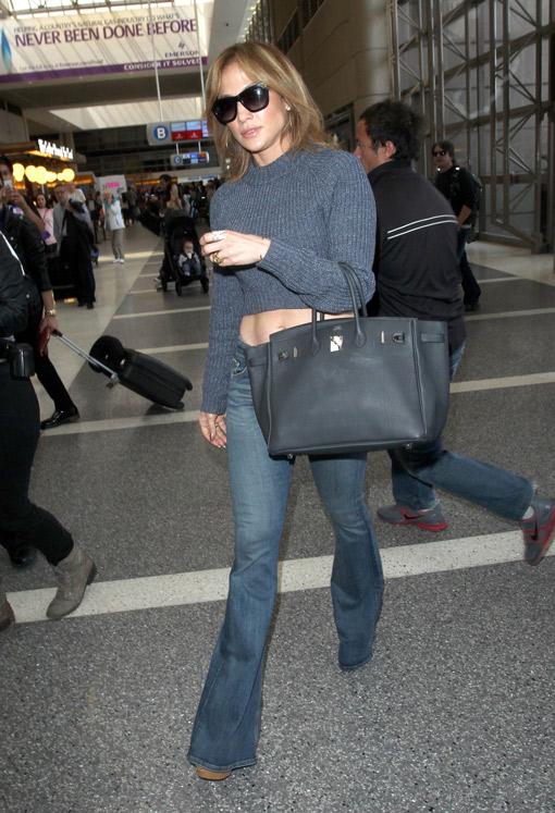 Jennifer Lopez, crónica de un viaje con estilo