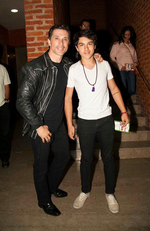 El debut musical de Sergio Mayer Mori tendrá que esperar  El debut musica...