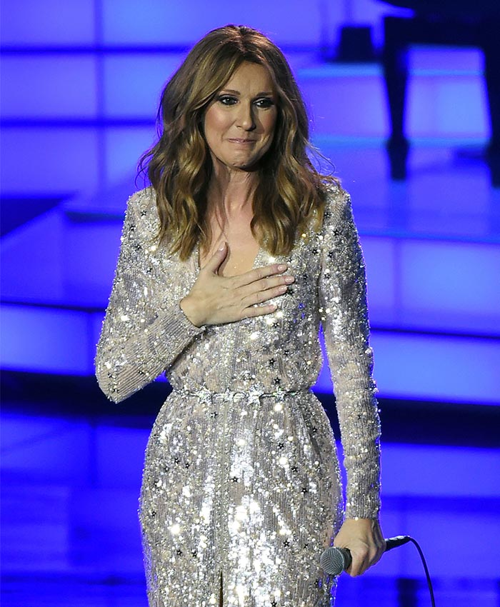 Celine dion regres a las vegas con un emotivo concierto for On traverse un miroir celine dion