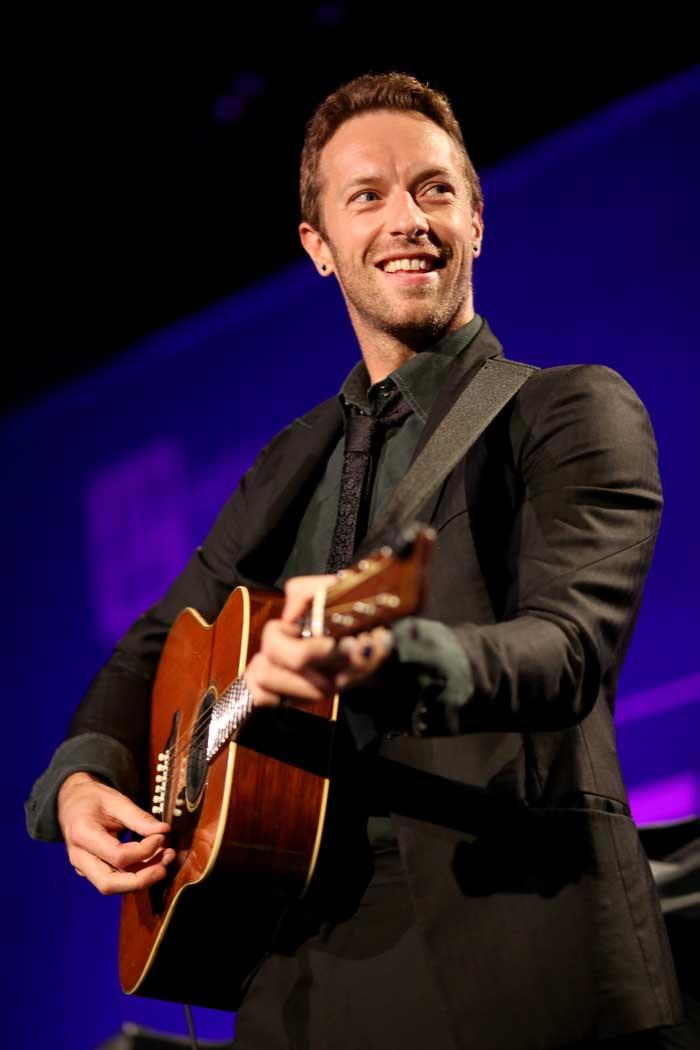 Chris Martin: 'Mi vida está más llena de luz de que de oscuridad'