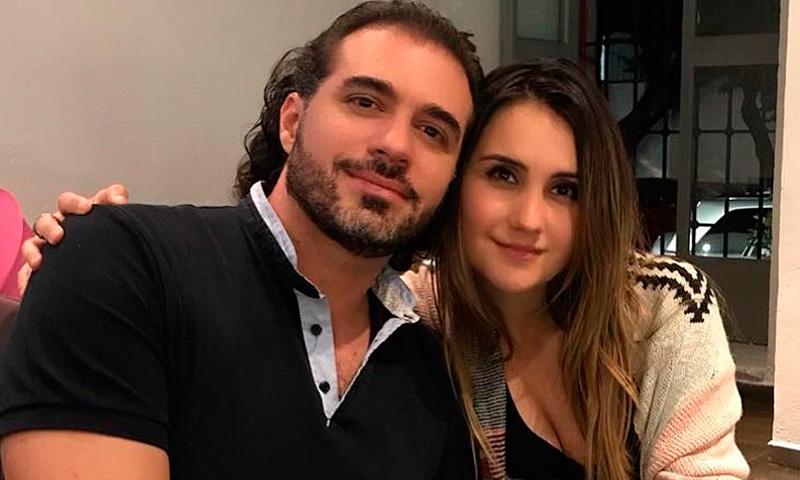 Dulce María and Luis Rodrigo Reyes