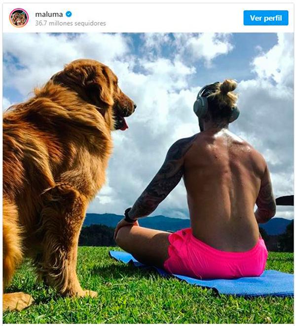 Maluma anuncia una pausa: 'necesito alimentar mi espíritu'