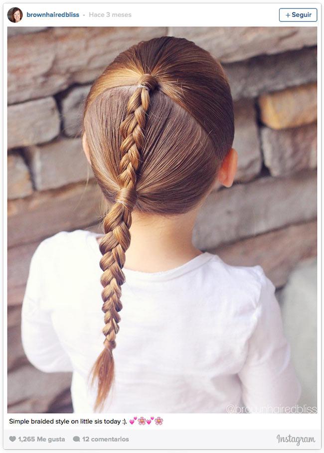 12 Peinados Con Trenzas Para Las Princesas Del Verano Foto