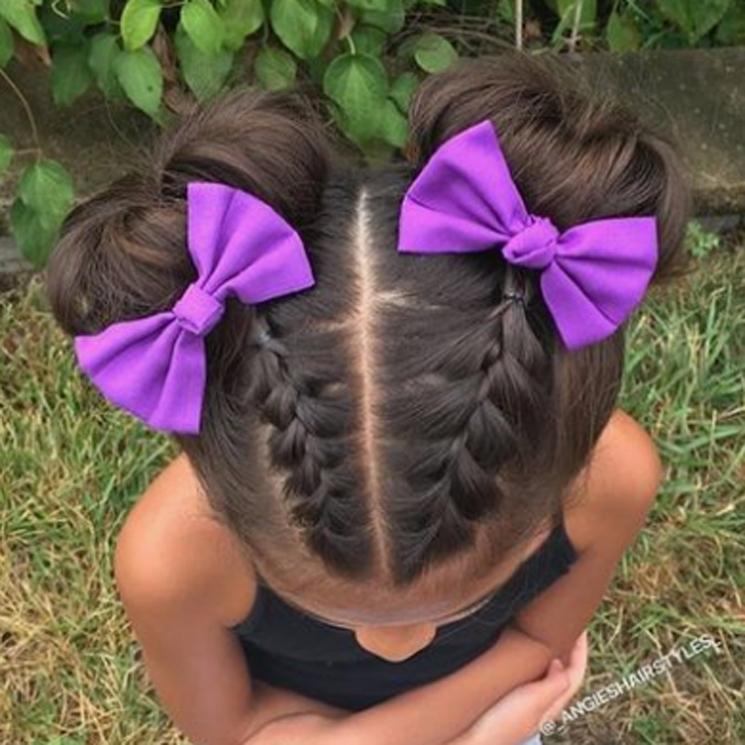 Hermoso peinados faciles niñas Imagen de cortes de pelo consejos - Ocho peinados para niña fáciles y muy favorecedores - Foto 1