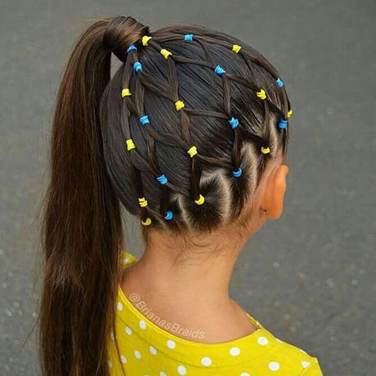 Diversión y halagos peinados divertidos para niñas Colección De Cortes De Pelo Ideas - Peinados para niñas sencillos y muy divertidos para para ...