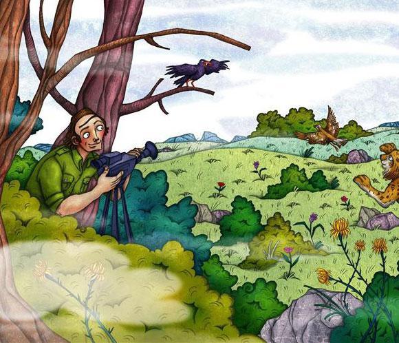El recuerdo 'ilustrado' de <strong>F&eacute;lix Rodr&iacute;guez de la Fuente</strong>