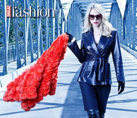 <strong>Mar&iacute;a Le&oacute;n</strong> posa con las <strong>tendencias estrella&nbsp;del invierno</strong>&nbsp;en<strong> <em>&iexcl;HOLA! Fashion</em></strong>