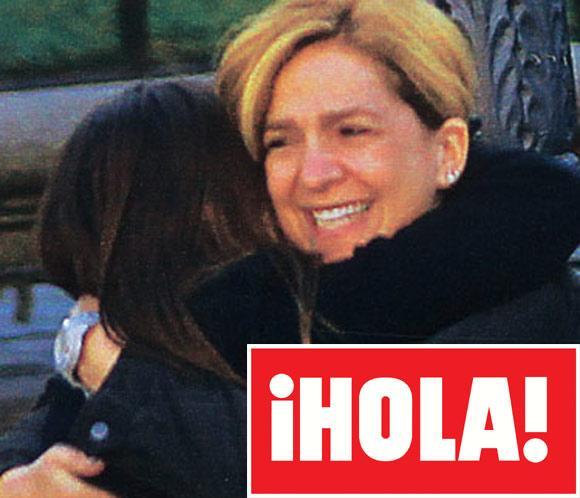 <strong>En &iexcl;HOLA!: La infanta Cristina y sus hijos, Navidad feliz y en familia</strong>