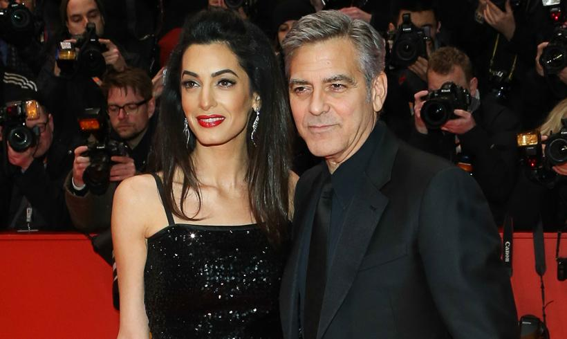 George Clooney y Amal, llenan de 'glamour' la Berlinale