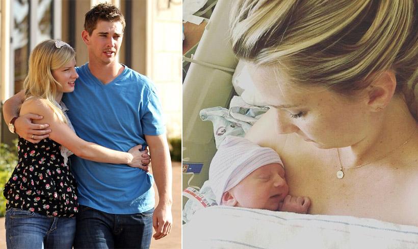 Heather Morris, la actriz de 'Glee', da la bienvenida a su segundo hijo