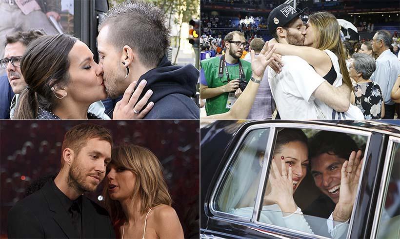 ¿Quién con quién? Las fotos en pareja más románticas de las 'celebrities'