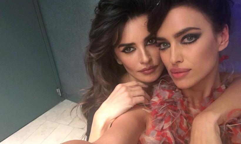 ¿Quién es más guapa? El 'selfie' de Penélope Cruz e Irina Shayk que ha revolucionado las redes