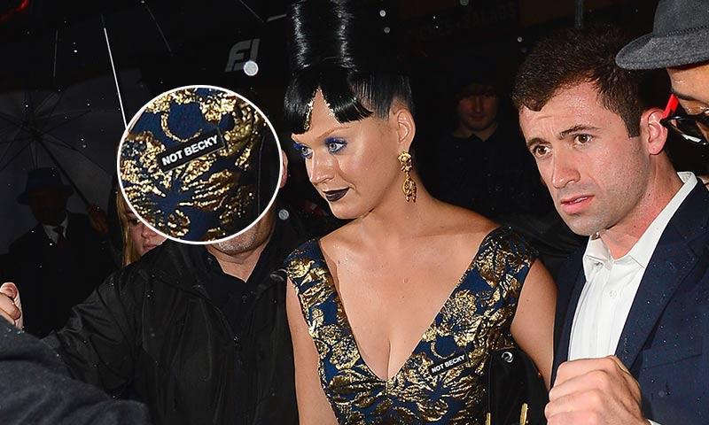 Katy Perry deja claro que no es la Becky de Beyoncé