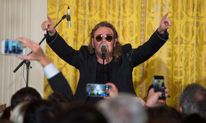 Maná celebra el Cinco de Mayo en la Casa Blanca