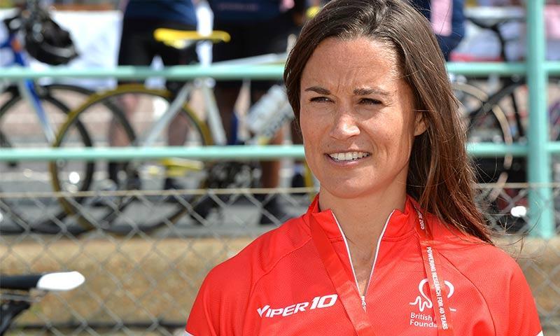 Pippa Middleton enfrenta su mayor reto deportivo hasta el momento