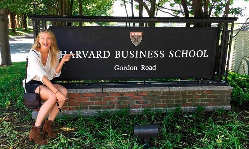 Maria Sharapova, de las canchas a las aulas de Harvard