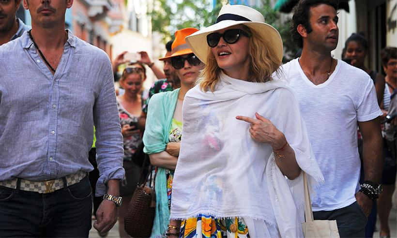 Madonna celebra su cumpleaños 58 con sus cuatro hijos en Cuba