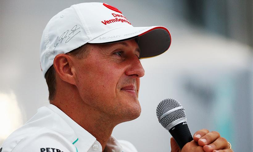 La familia de Michael Schumacher revela que el piloto aún 'no puede caminar o ponerse de pie'