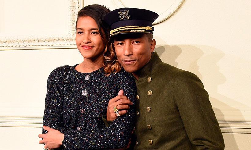 Pharrell Williams y su esposa Helen Lasichanh se convertirán en padres por segunda ocasión