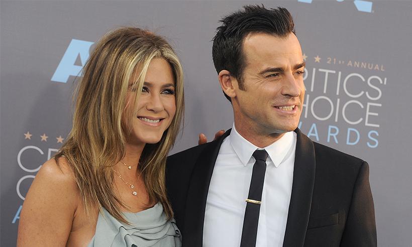 Justin Theroux, esposo de Jennifer Aniston, habla sobre el divorcio de Brad Pitt y Angelina Jolie