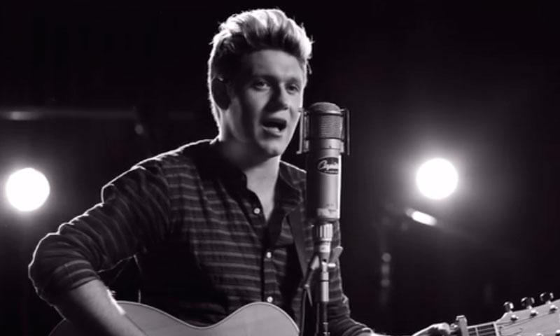 Niall Horan, de One Direction, sorprendió a sus fans con su primera canción como solista