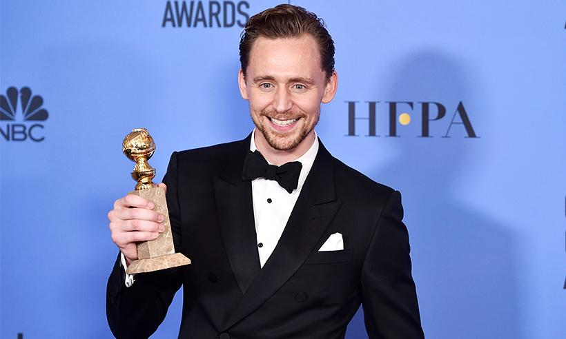Tom Hiddleston se disculpa por su discurso en los Golden Globes: 'Me expresé con poca elegancia'