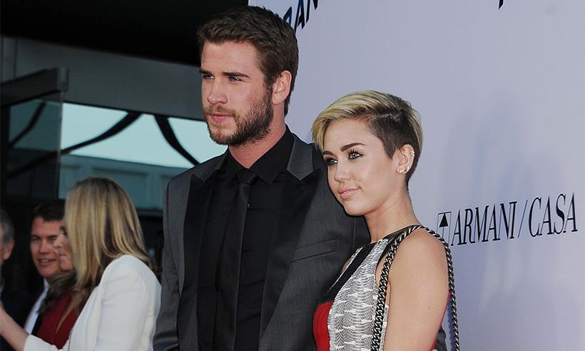 Miley Cyrus envía una tierna felicitación a Liam Hemsworth por su cumpleaños