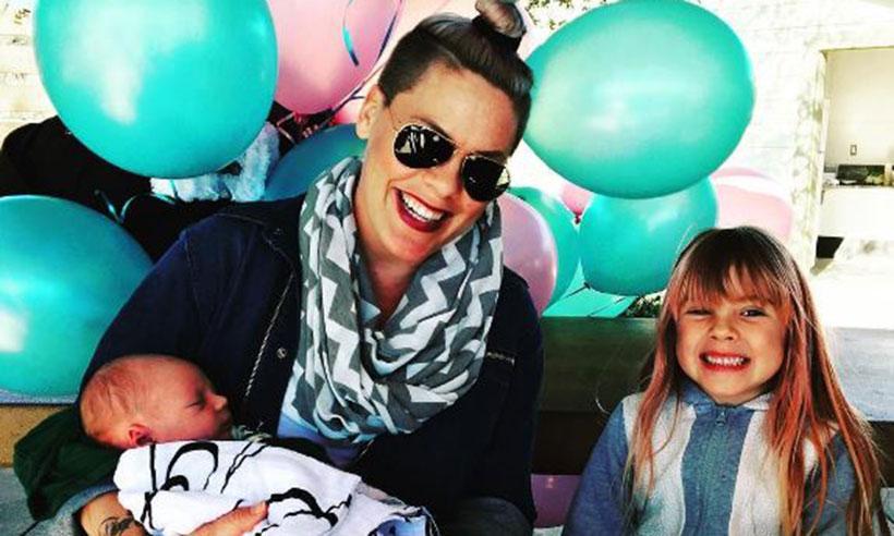 '¡Felicidades hermana mayor!' Pink organiza una fiesta para su hija Willow tras la llegada de su nuevo bebé