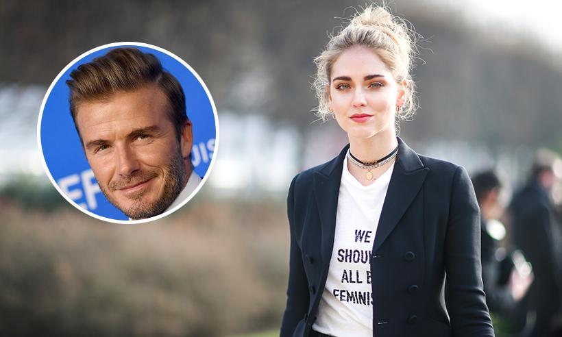 El divertido momento en el que Chiara Ferragni intenta grabar en secreto a David Beckham