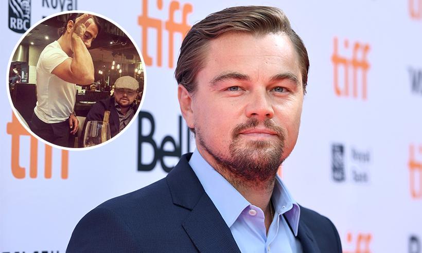 La sensación de internet Salt Bae, prepara un filete para Leonardo DiCaprio
