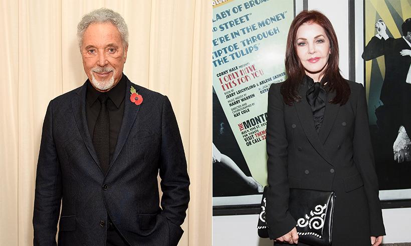 Tom Jones y Priscilla Presley podrían haber iniciado una relación