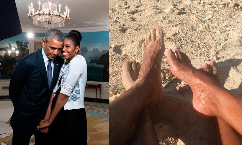 Los románticos mensajes de Barack y Michelle Obama en San Valentín