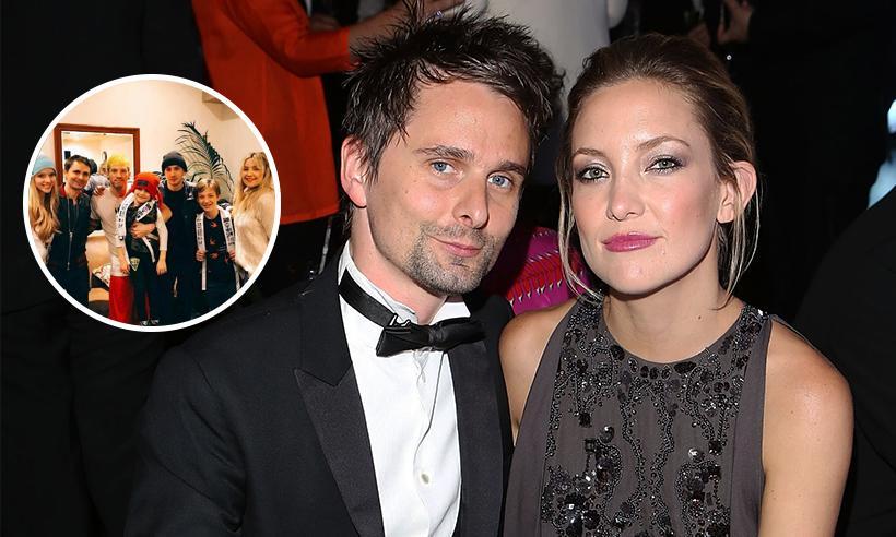 Kate Hudson y Matt Bellamy se reúnen para llevar a su hijo a un especial concierto