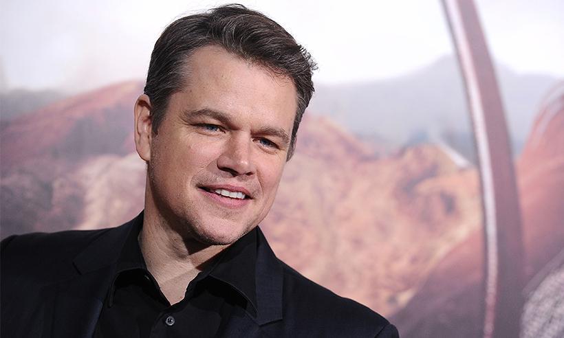 Matt Damon bromea sobre la tardía paternidad de George Clooney