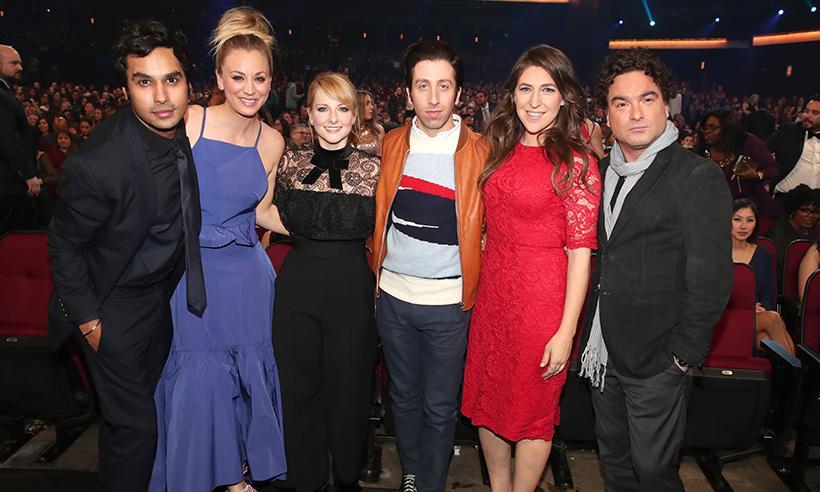 El generoso gesto del elenco de Big Bang Theory con dos de sus compañeras