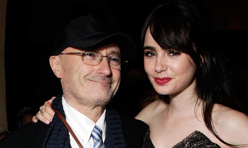 Lily Collins envía un sincero mensaje a Phil Collins: 'Te perdono por no ser el padre que esperaba'