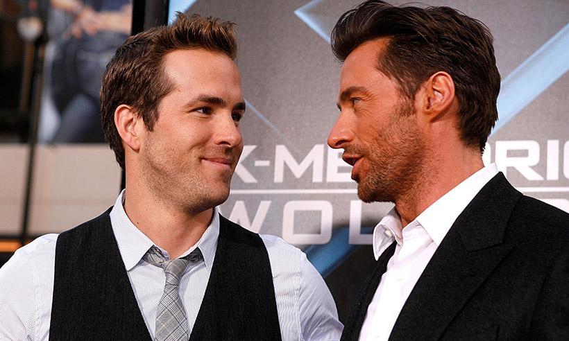 La divertida broma de Ryan Reynolds a Hugh Jackman en redes sociales