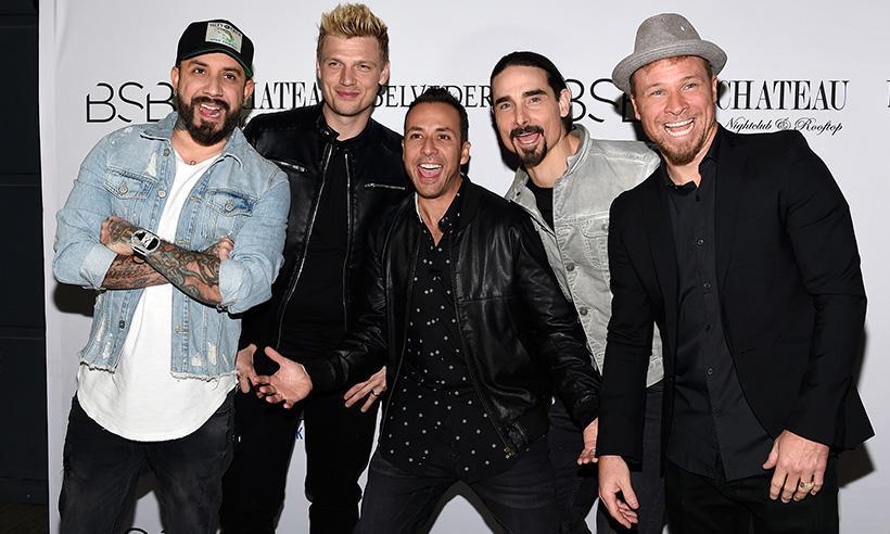 La sorpresiva reunión de los Backstreet Boys con uno de los integrantes de NSYNC