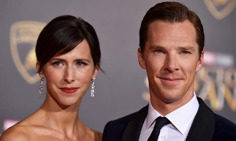 Benedict Cumberbatch y Sophie Hunter le dan la bienvenida a su segundo hijo
