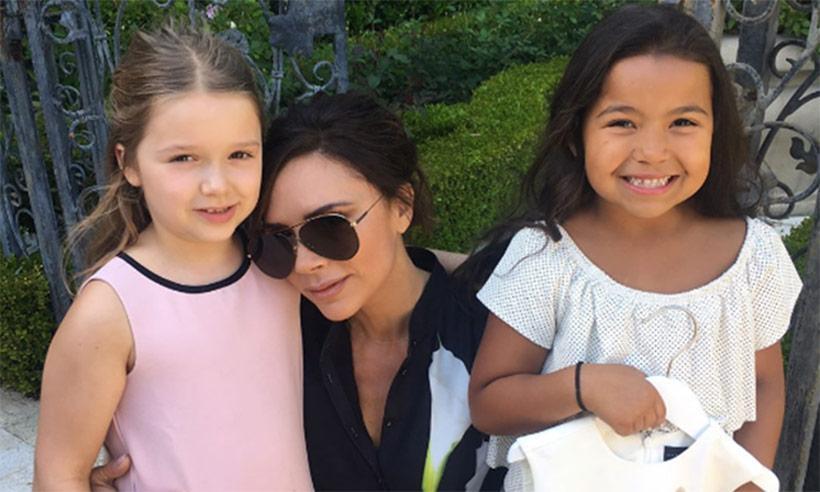 Conoce a la nueva amiga de Harper Beckham, la celebridad de internet Heavenly Joy