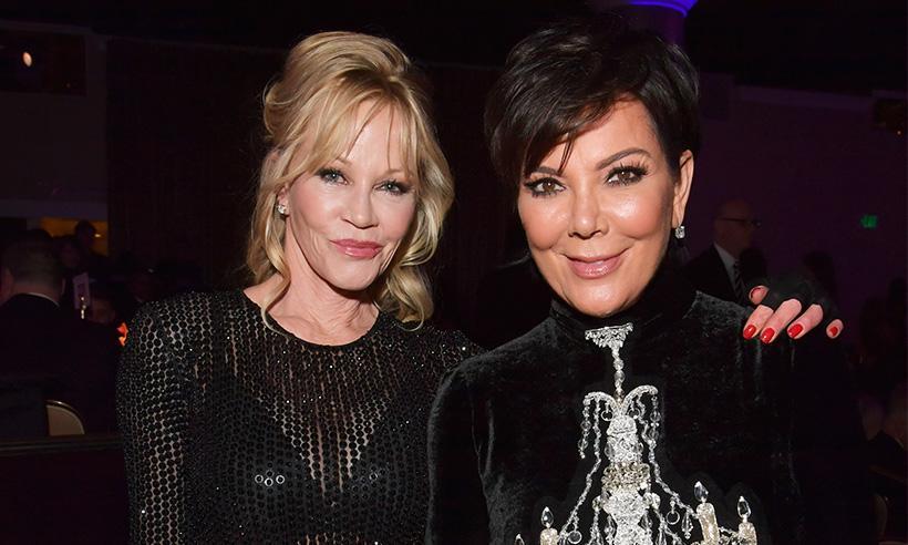 Melanie Griffith revela que Kris Jenner está intentando conseguirle un 'nuevo amor'