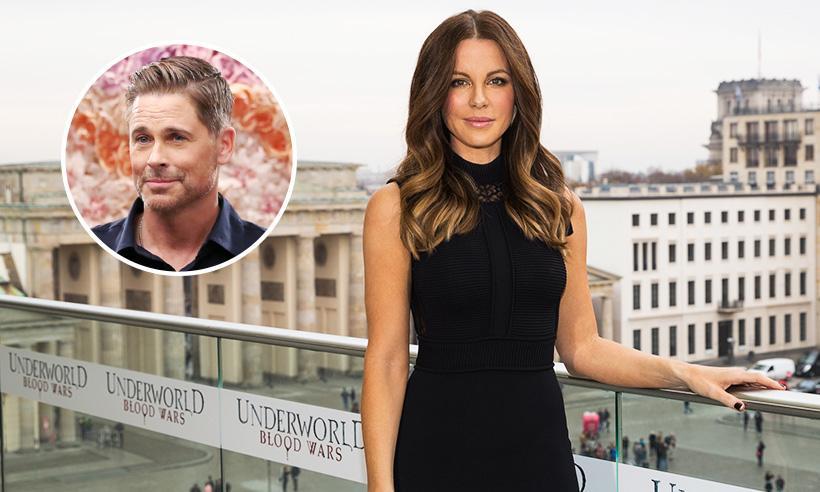 Kate Beckinsale revela que le propuso matrimonio a Rob Lowe cuando tenía 13 años