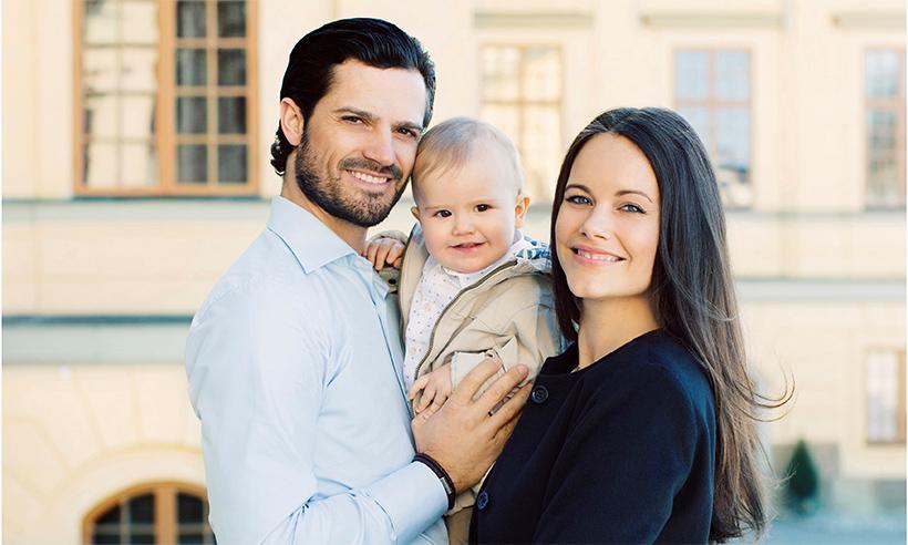 El Príncipe Alexander de Suecia celebra su primer cumpleaños con una tierna fotografía