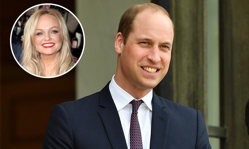 El Príncipe William pregunta a Emma Bunton por una reunión de las Spice Girls
