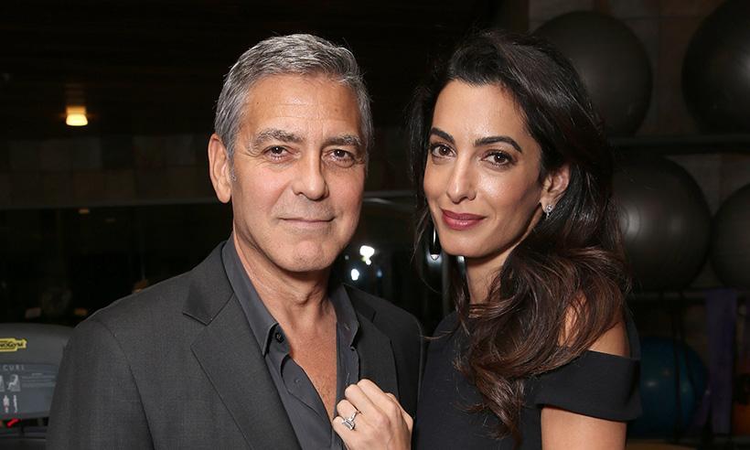 George y Amal Clooney donan 10 mil dólares para la protección de los animales