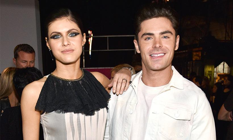 El coqueteo entre Zac Efron y Alexandra Daddario en los MTV Movie & TV Awards 2017