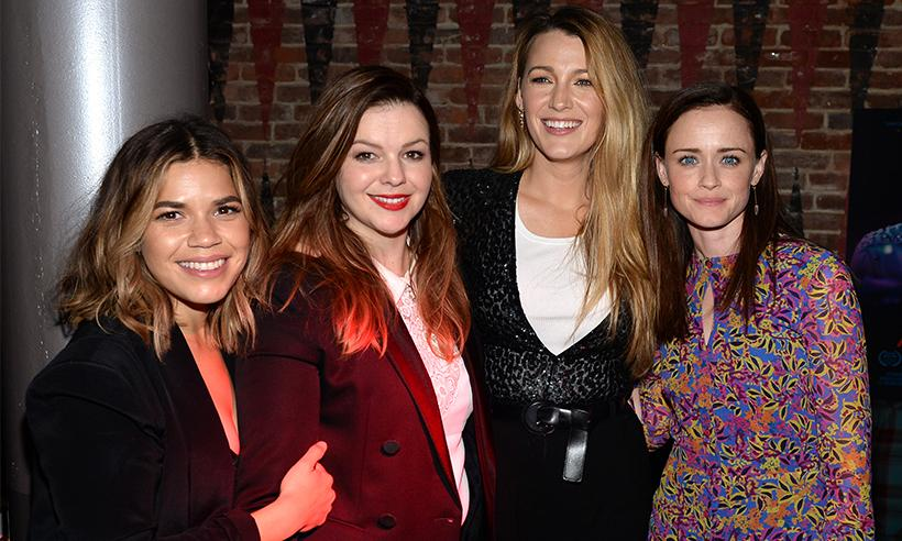 Parte del elenco de Sisterhood of the Traveling Pants se reúne en Nueva York