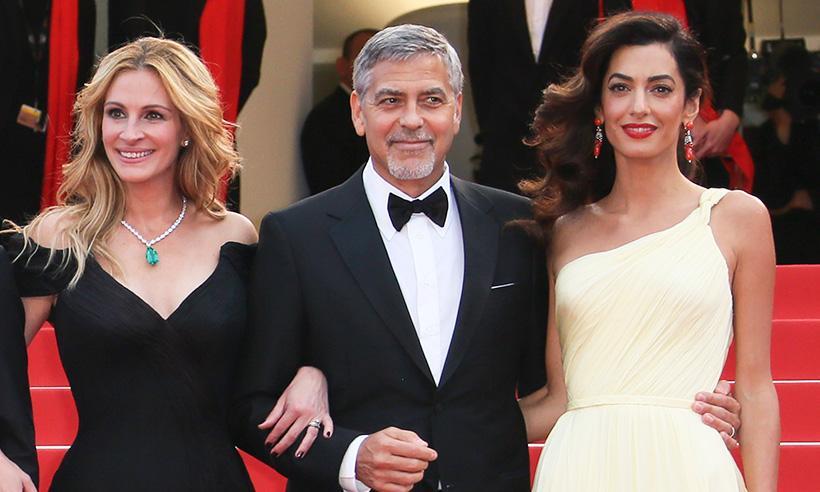 El mensaje de Julia Roberts para Amal y George Clooney a unos meses de la llegada de sus gemelos